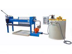 maquina de tratamiento de aguas